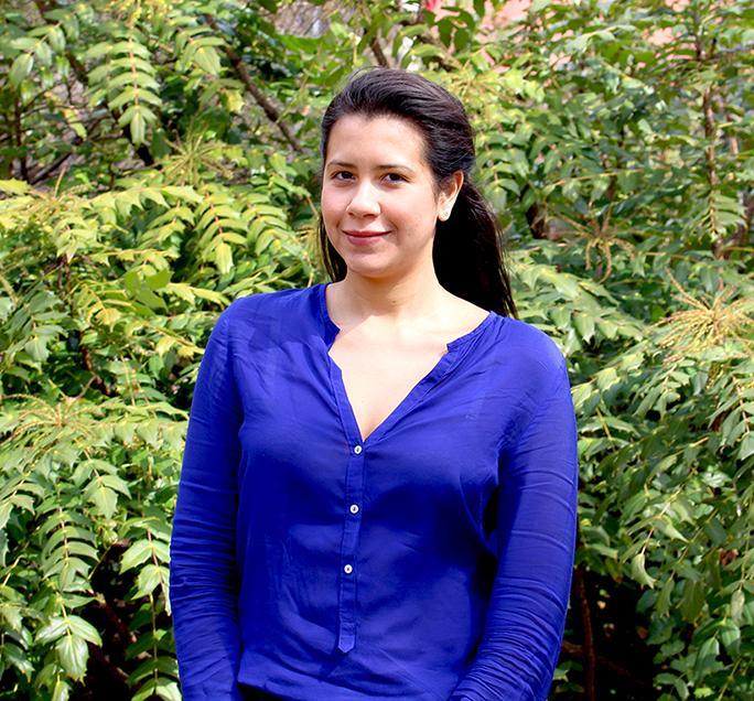 Carmen Olivero, a student from Venezuela, entered Temple University through the Conditional Admission Program.